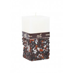 Scented candle ProCandle 073009 / cuboid / vanilla