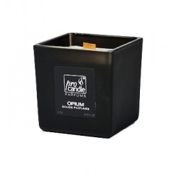 Parfumée Bougie de soja ProCandle 110316 / Eco / Opium