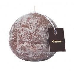 Świeca zapachowa ProCandle 720006/kula/cynamon