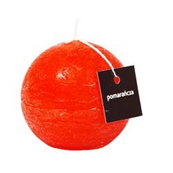 Świeca zapachowa ProCandle 720008/kula/pomarańcza