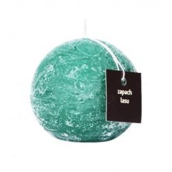 Świeca zapachowa ProCandle 720013/kula/zapach lasu