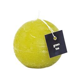 Świeca zapachowa ProCandle 720014 / kula / zielona herbata