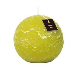 Świeca zapachowa ProCandle 721014 / kula / zielona herbata