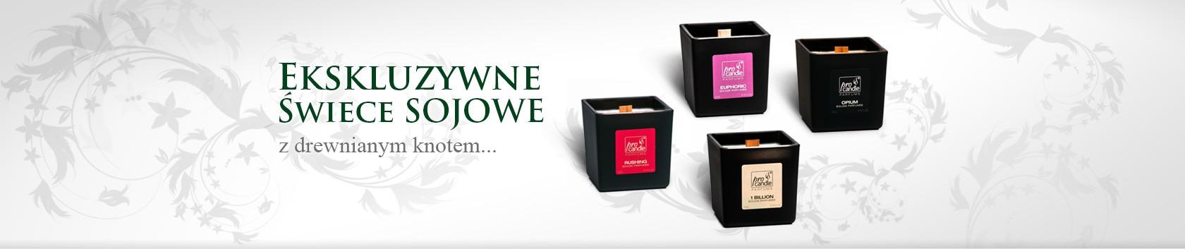 świece Zapachowe Dekoracyjne Sojowe Producent Pro Candle